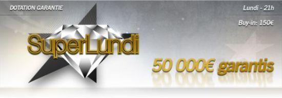 Tournoi Super Lundi sur Eurosport Poker
